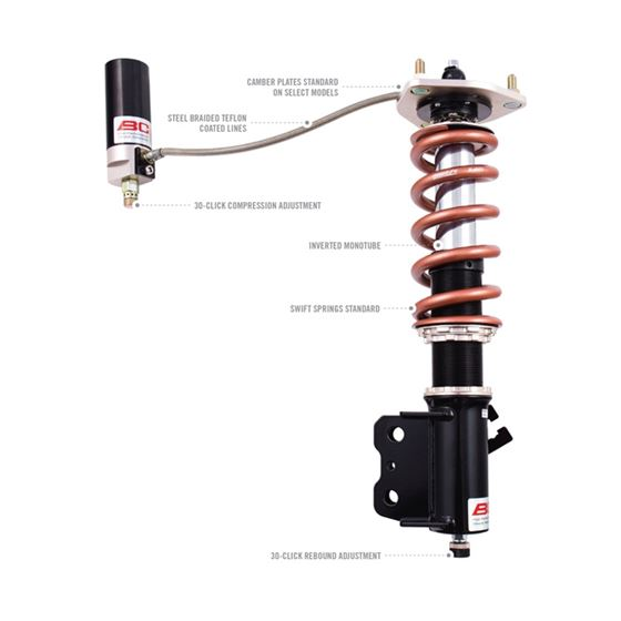 1996-2001 Mitsubishi Lancer BR Series Coilovers-2